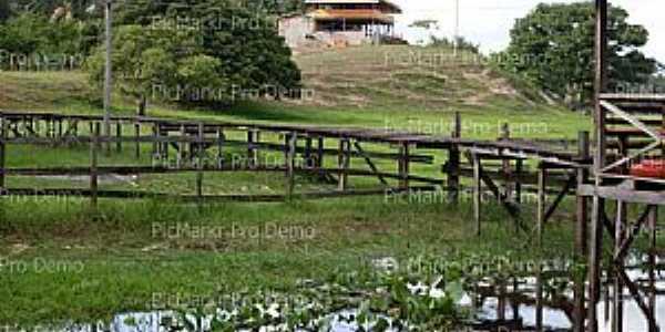 Igarapé do Lago-AP-Área de lazer rural-Foto:Fernanda.Oliveira