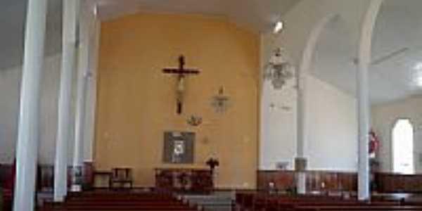 Interior da Igreja de São Sebastião-Foto:Raymundo P Netto