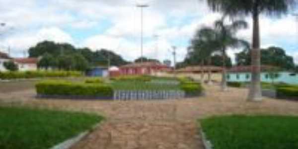Praça na cidade de Couto, Por Fernando Amador