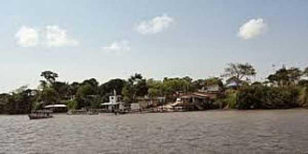 Ilha de Santana-AP-Chegando na Ilha-Foto:casteloroger.blogspot.com