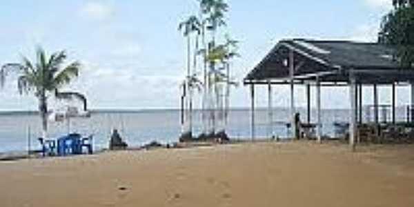 Praia em Ilha de Santana-AP-Foto:eart.esp.