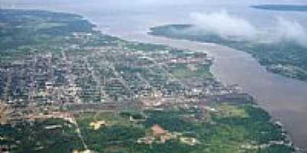 Vista aérea de Ilha de Santana-AP-Foto:mrioricardo.