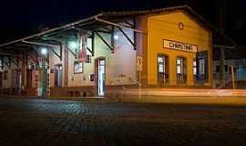 Cristina - Cristina-MG-Antiga Estação Ferroviária,atual Estação Rodoviária-Foto:Facebook