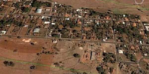 Cruzeiro dos Peixotos-MG-Vista aérea da cidade-Foto:Edivânio Ávila