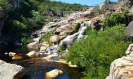 Curimataí - cachoeira do rio curimatai em curimatai, distrito de buenópolis mg., Por lilian paula
