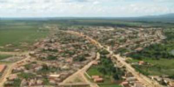 vista aerea da cidade, Por marcos