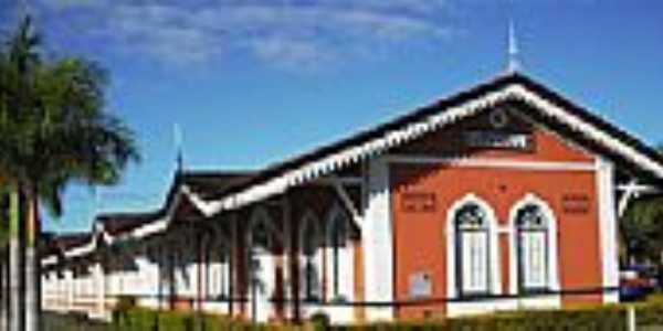 Antiga Estação Ferroviária-Foto:Leandro Durães [Panoramio]