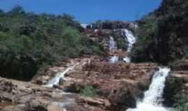 Datas - cachoeira do ribeirao de datas, Por MARCELO