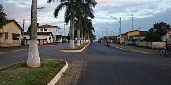 Delfinópolis-MG-Avenida de Acesso-Foto:Alexandre Bonacini