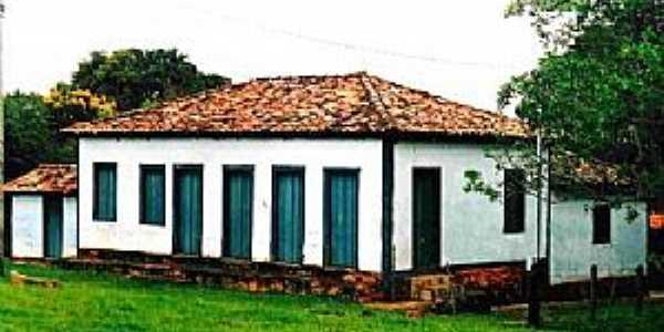 Desemboque-MG-Casarão Colonial-Foto:Glaucio Henrique Chaves