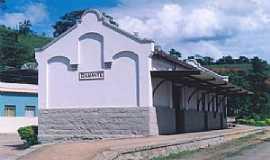 Diamante de Ubá - Diamante de Ubá-MG-Estação Ferroviária em 2004-Foto:Gutierrez L. Coelho