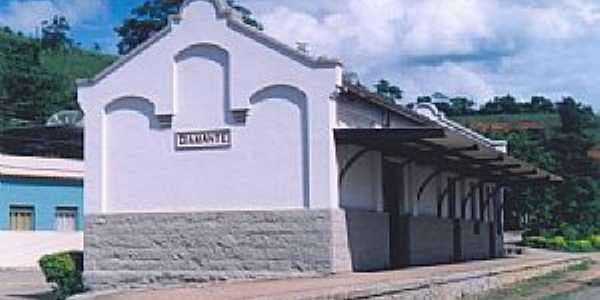 Diamante de Ubá-MG-Estação Ferroviária em 2004-Foto:Gutierrez L. Coelho