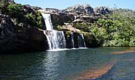 Diamantina - Cachoeira dos Cristais em Diamantina-MG-Foto:João Carlos Machado