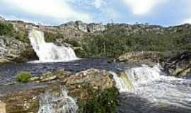 Diamantina - Cachoeira dos Cristais em Diamantina-MG-Foto:Jose Gustavo A. Murt�