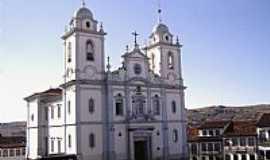 Diamantina - Igreja de Santo Antônio de Pádua em Diamantina-MG-Foto:Vicente A. Queiroz