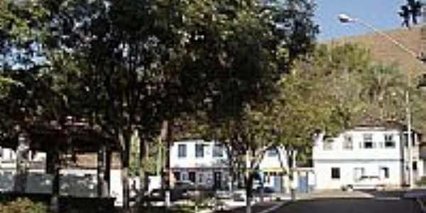 Praça central de Diogo de Vasconcelos-MG-Foto:Fabinho augusto