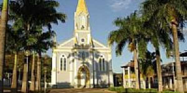 Igreja Matriz de Divinolândia de Minas-Foto:RENAN SILVA 100% CA…