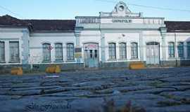 Divinópolis - Divinópolis-MG-Estação Ferroviária-Foto:Leonardo Figueiredo