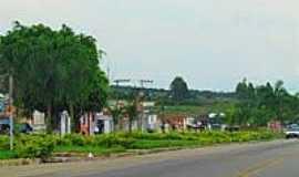 Divisa Alegre - Casas às margens da Rodovia-Foto:PEDRO PAULO