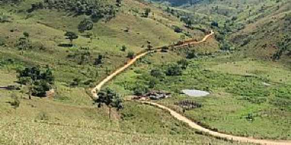 Dois de Abril-MG-Estrada da região-Foto:Mauro Costa-Engenheiro Florestal