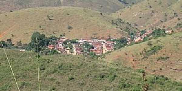 Dois de Abril-MG-Vista do distrito-Foto:Mauro Costa-Engenheiro Florestal