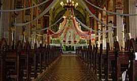 Dores do Turvo - Interior da Igreja de N.Sra.das Dores em Dores do Turvo-MG-Foto:Rodrigo Padula de Ol…