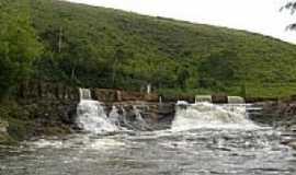 Dores do Turvo - Represa da antiga Usina Hidrelétrica em Dores do Turvo-MG-Foto:Cleverson Vieira Pir…