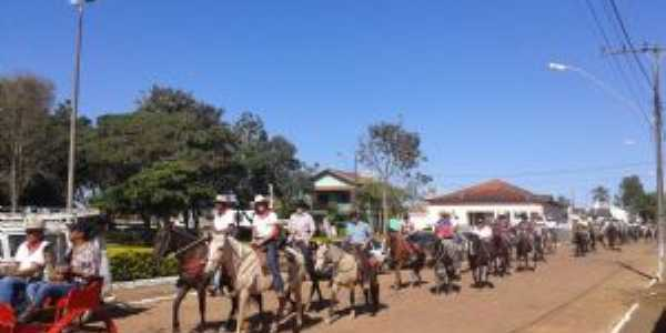 Tradicional Cavalgada do Distrito, Por Douradinho Acontece