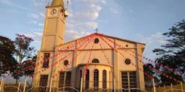 Igreja matriz, atual, dedicada ao padroeiro São João Batista, Por Ricardo Celso de Souza