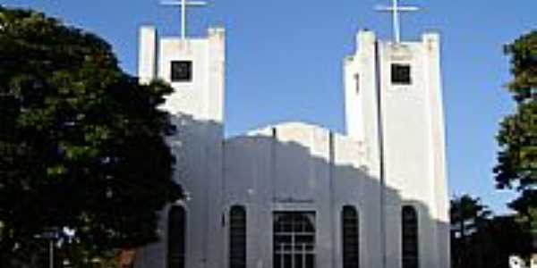 Igreja Matriz de Douradoquara por Vicente A Queiroz