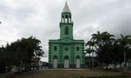 Engenheiro Caldas - Engenheiro Caldas-MG-Praça e Igreja de Santa Bárbara-Foto:Altemiro Olinto Cristo