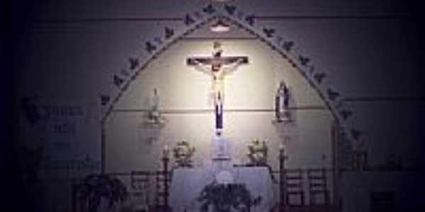 Interior da Igreja-Foto:Nilson Gregorio [Panoramio]