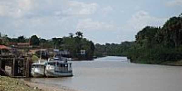 Mazagão-AP-Orla do Rio Mazagão-Foto:Alan.Kardec