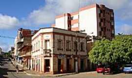 Ervália - Ervália-MG-Praça Arthur Bernardes no centro-Foto:Amarildo Souza