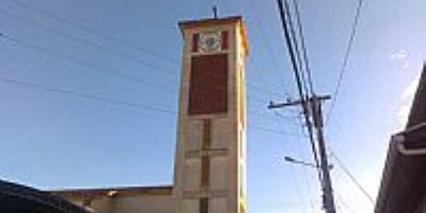 Ervália-MG-Torre da Matriz-Foto:carlos h l silva