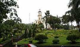 Espera Feliz - Praça central e Igreja-Foto:Elpídio Justino de A…
