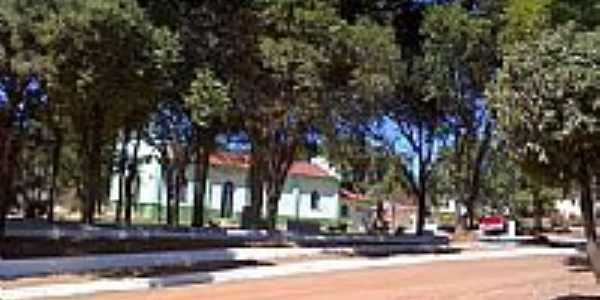 Praça em Esteios-Foto:valdicarvalho