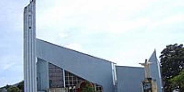 Matriz de N.S.Aparecida-Foto:Vicente A. Queiroz
