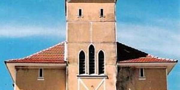 Estrela do Sul-MG-Igreja Matriz antes da recuperação-Foto:Glaucio Henrique Chaves