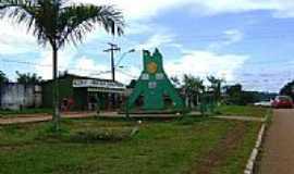 Oiapoque - Monumento fronteiri�o-Foto:Alan.Kardec