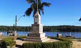 Oiapoque - Oiapoque-AP-Monumento Aqui come�a o Brasil-Foto:Alan Kardec