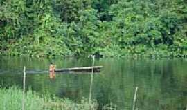 Oiapoque - Rio Uaçá Aldeia Manga-Foto:Alan.Kardec