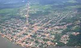 Oiapoque - Vista a�rea de Oiapoque-Foto:mrioricardo.
