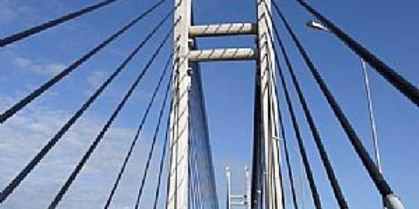 Oiapoque-AP-Ponte Binacional Brasil/França-Foto:Alan Kardec