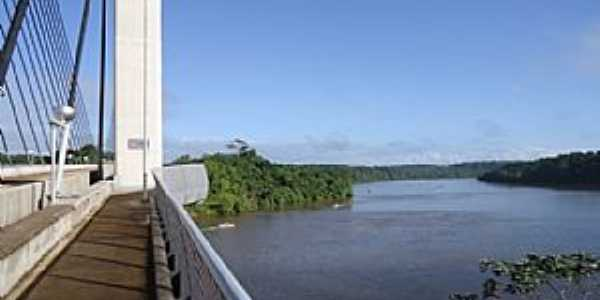 Oiapoque-AP-Ponte Binacional Brasil/Fran�a-Foto:Alan Kardec