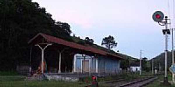 Estação Ferroviária-Foto:Jorge A. Ferreira Jr… [Panoramio]