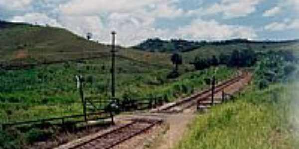 Porteira da Ferrovia-Foto:Casa de Trólei [Panoramio]
