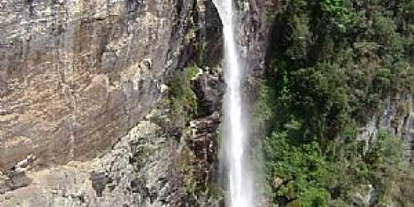 Fel�cio dos Santos-MG-Cachoeira do Sumidouro-Foto:Sergio Bernardo