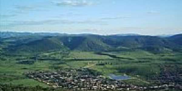 Vista aérea de Felisburgo-MG-Foto:marcelo denis