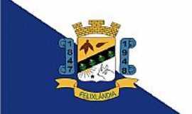 Felixlândia - Bandeira Felixlandia_MG